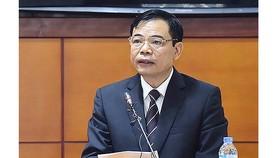 Bộ trưởng Bộ NN-PTNT Nguyễn Xuân Cường