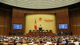 Quốc hội thảo luận ngày 31-5. Ảnh: VIẾT CHUNG
