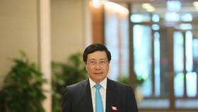 Phó Thủ tướng, Bộ trưởng Bộ Ngoại giao Phạm Bình Minh