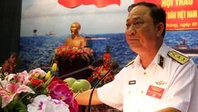 Ông Nguyễn Văn Hiến, nguyên Thứ trưởng Bộ Quốc phòng, nguyên Tư lệnh Quân chủng Hải quân. Ảnh: TTXVN