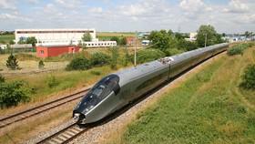 Đường sắt tốc độ cao. Ảnh minh họa: Alstom