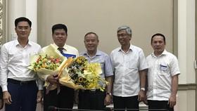 Đồng chí Bùi Hòa An giữ chức vụ Phó Giám đốc Sở GTVT TPHCM
