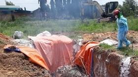 Một hộ dân trữ hơn 4 tấn thịt dương tính với dịch tả heo Châu Phi trong kho lạnh