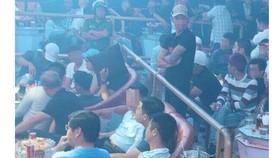 Cơ quan chức năng TP Biên Hòa kiểm tra quán bar