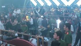 Công an phát hiện hơn 200 đối tượng sử dụng trái phép chất ma túy trong quan bar