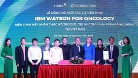 IBM triển khai công nghệ hỗ trợ điều trị ung thư tại Việt Nam