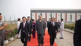 Đoàn cấp cao Triều Tiên tham quan nhà máy sản xuất ô tô của Vingroup