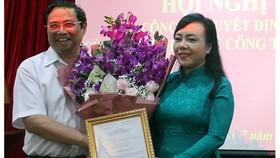 Bộ trưởng Nguyễn Thị Kim Tiến giữ chức Trưởng ban Bảo vệ, chăm sóc sức khoẻ cán bộ Trung ương
