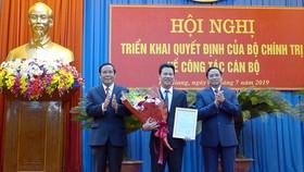 Bộ Chính trị điều động Chủ tịch UBND tỉnh Hà Tĩnh giữ chức Bí thư Tỉnh ủy Hà Giang