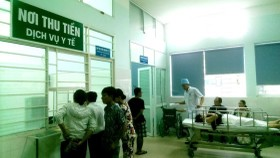 1,900 medical service in public hospitals will apply a new fee hike plan for patients without health insurance from June 1 (Photo: SGGP)