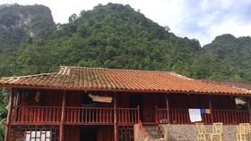 Homestay of Hoamg Ngoc Kim in Phia Thap village, Cao Bang province (Photo: VNA)