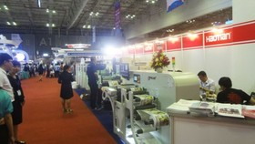 A fair to exhibit packaging and printing products (Photo: SGGP)