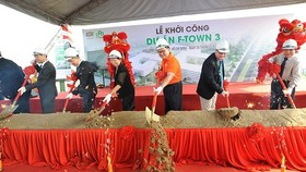 FPT Software kicked off its largest software center in Saigon Hi-tech Park (Photo: SGGP)