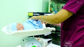 First baby born in Lunar New Year