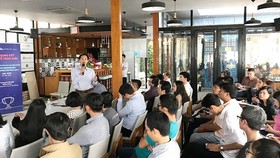 SIHUB regularly organizes innovative startup activities (Photo: SGGP)
