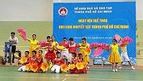 Sport games for disabled students to be organized