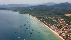 A corner of Phu Quoc island district (Photo: VNA)