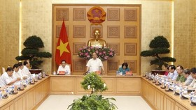 Prime Minister Nguyen Xuan Phuc is speaking at the ceremony (Source: VNA)