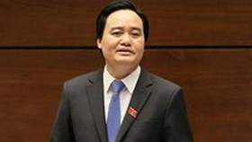 Education MInister Phung Xuan Nha (Photo: SGGP)