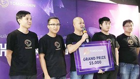 Newcater won the first prize in TomoChain Hackathon