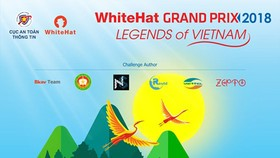 WhiteHat Grand Prix 2018 with the theme 'Legends of Vietnam'
