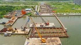 Sluggish site clearance leads to delay of Thu Thiem 2 Bridge