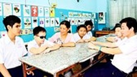 HCMC expects to add vocational training in curricula for disable students