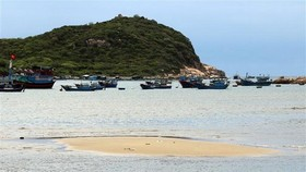 Vinh Hy Bay in Ninh Thuan (Source: VNA)