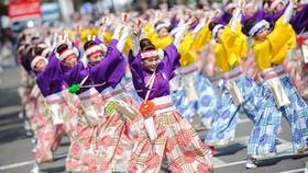 Yosakoi dance performance at Japanese cultural festival in Hanoi (Source: organising board)