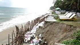 $77.4 million to be allocated for remedying coastal erosion in central Vietnam