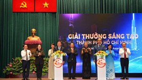 The HCMC People's Committee officially launched the 'HCMC Innovation Awards 2019'. Photo by Viet Dung.