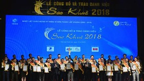 Sao Khue Awards Ceremony in 2018. Photo by T.B