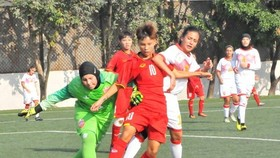 Vietnam defeat Lebanon 7-0 in the first qualifying round of the 2019 Asian Football Confederation (AFC) Women's U16 Championship (Photo: VFF)