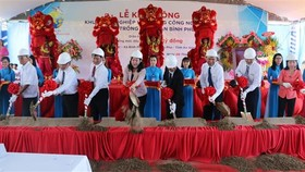Work begins on Vietnam's largest tra fish farming project