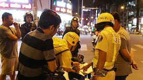 Police start crackdown on violators to keep traffic order
