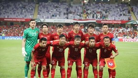 Vietnamese men's football team (Photo: VNA)