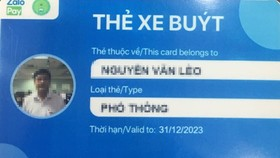 HCMC pilots automatic bus fare payment