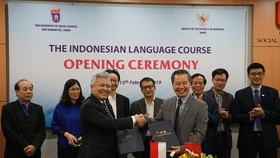 Indonesian language officially taught at Vietnam National University