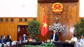 Prime Minister Nguyen Xuan Phuc at the meeting (Source: VNA)