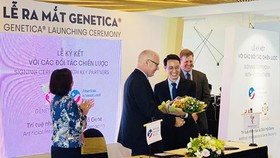 Genetica Company signed a strategic collaboration agreement with American International Hospital. Photo by T.Ba