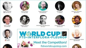 Bao Hoai Nam will be the first and only artist from Vietnam among 23 artists from 23 countries and territories participating at the FTDWorldcup 2019, a top floral designer competition to be held in the US in March.(Photo: VNA)