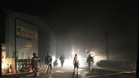 No casualties in lubricant warehouse fire in district 12 reported