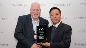 VinaPhone leader received the Speedtest Awards