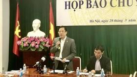 General Director of the Corporate Finance Department Dang Quyet Tien speaks at the event (Source: VNA)