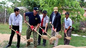 The groundbreaking ceremony (Source: VNA)
