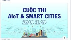 AIoT & Smart Cities 2019 contest launched at national level