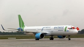 Bamboo Airways began commercial flights on January 16 this year and currently has 10 aircraft (Photo: VNA)