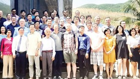 The first conference in Vietnam on soft matter, attracting scientists from many countries in the world