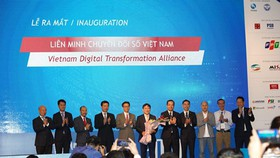 Many leading ICT firms participate in VDTA. (Photo: SGGP)