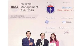 Gia An Hospital 115 awarded for fastest improvement project